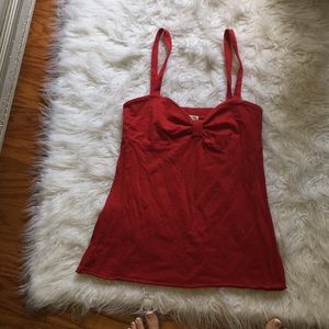 Tops - RED BOW TANKTOP